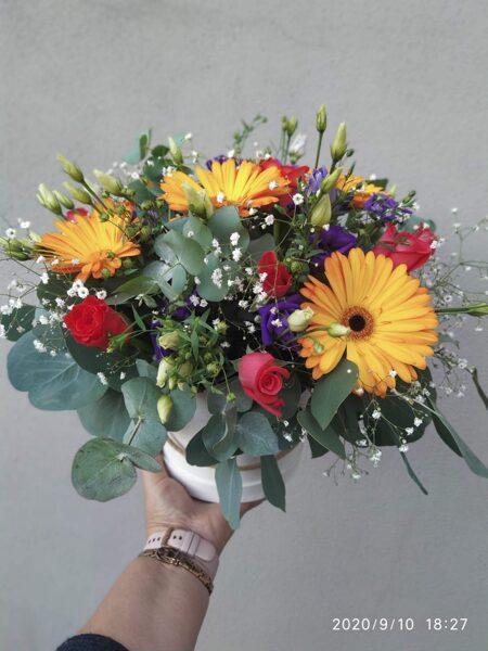 Ziedu kastīte Nr 5.
